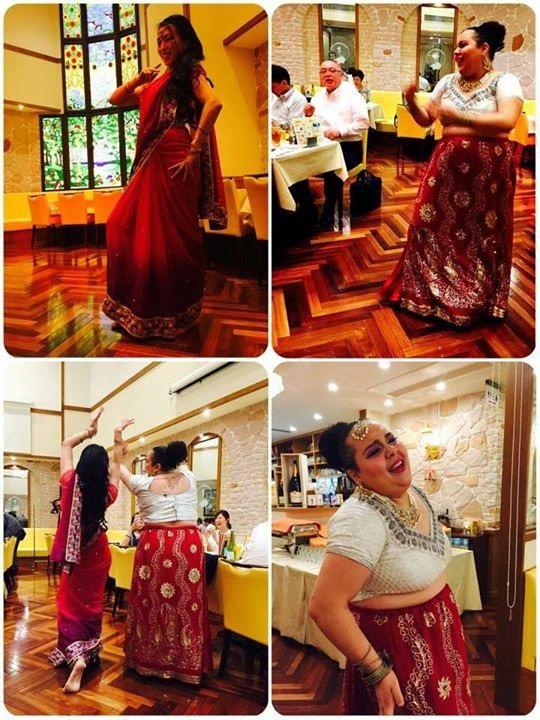 レストランマユール Angela Raga & Arati Bollywood Dance Show
